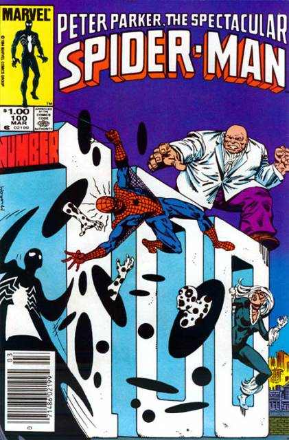 The Spectacular Spider-Man (1976) no. 100 - Used