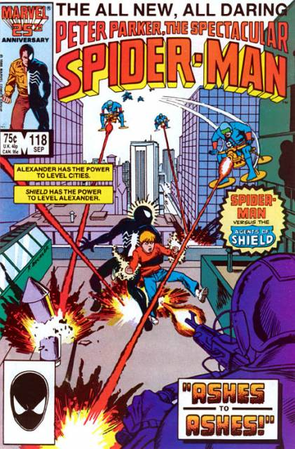 The Spectacular Spider-Man (1976) no. 118 - Used