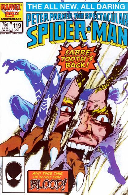 The Spectacular Spider-Man (1976) no. 119 - Used