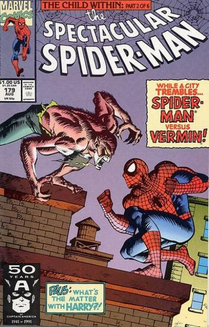 The Spectacular Spider-Man (1976) no. 179 - Used