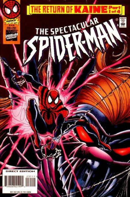 The Spectacular Spider-Man (1976) no. 231 - Used