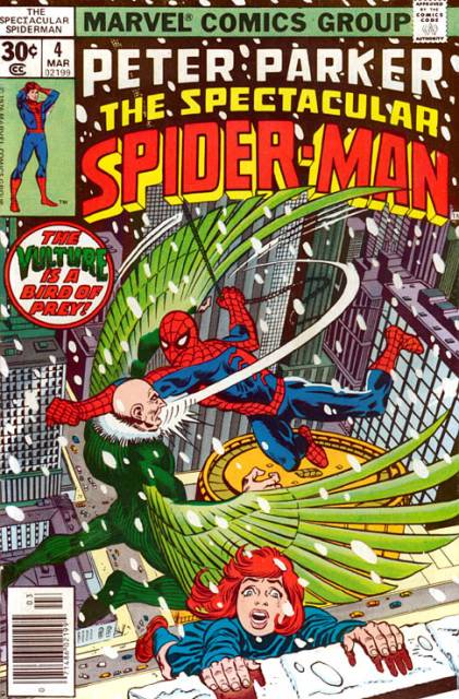 The Spectacular Spider-Man (1976) no. 4 - Used
