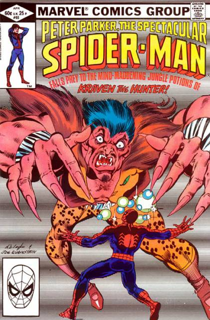 The Spectacular Spider-Man (1976) no. 65 - Used