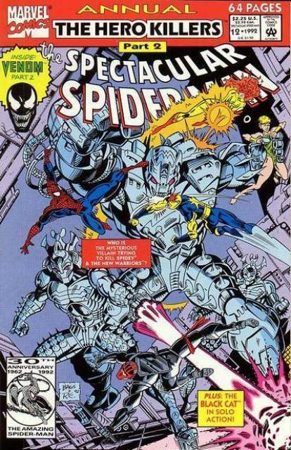 The Spectacular Spider-Man (1976) Annual no. 12 - Used