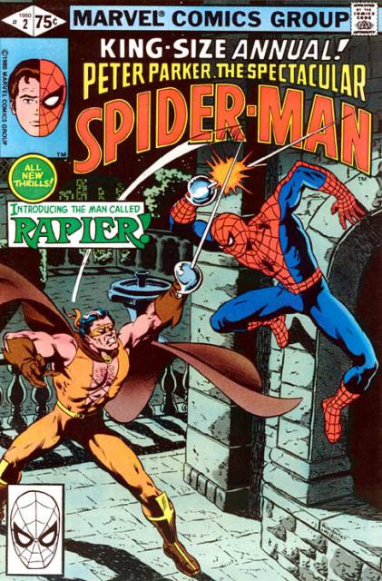 The Spectacular Spider-Man (1976) Annual no. 2 - Used
