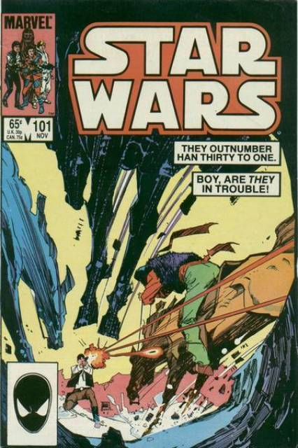 Star Wars (1977) no. 101 - Used