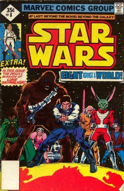 Star Wars (1977) no. 8 - Used