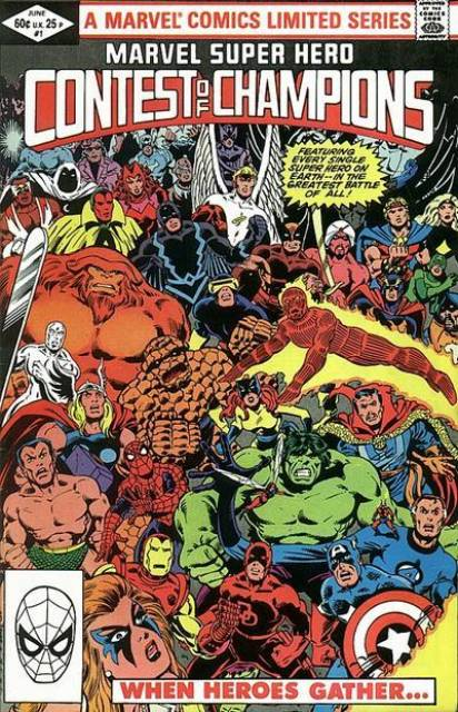 Contest of Champions (1982) Complete Bundle - Used