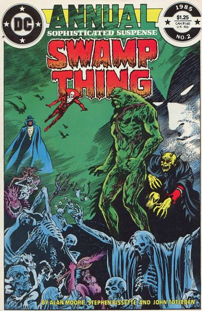 Swamp Thing (1982) Annual no. 2 - Used