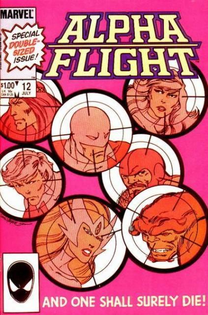Alpha Flight (1983) no. 12 - Used