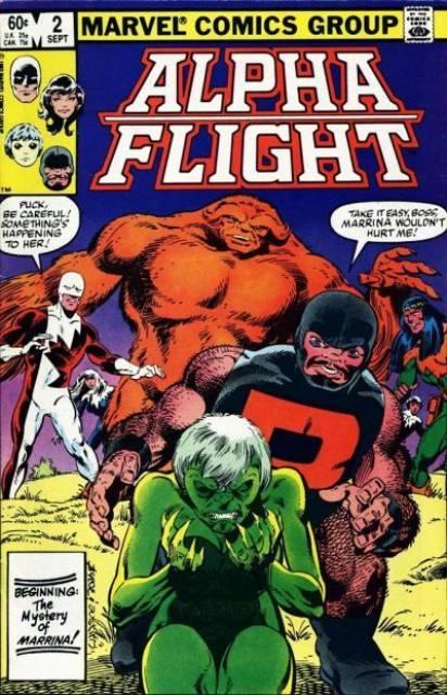 Alpha Flight (1983) no. 2 - Used