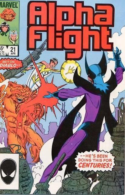 Alpha Flight (1983) no. 21 - Used