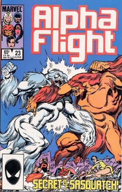 Alpha Flight (1983) no. 23 - Used