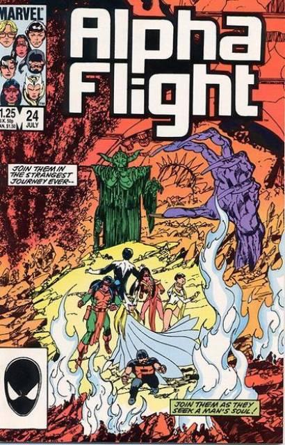 Alpha Flight (1983) no. 24 - Used