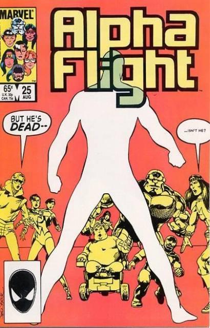 Alpha Flight (1983) no. 25 - Used