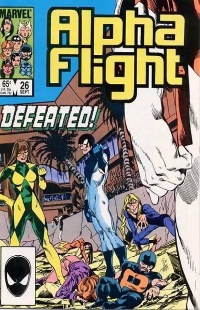 Alpha Flight (1983) no. 26 - Used