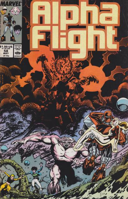 Alpha Flight (1983) no. 58 - Used