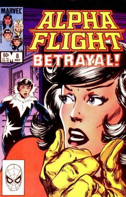 Alpha Flight (1983) no. 8 - Used