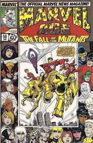 Marvel Age (1983) no. 58 - Used