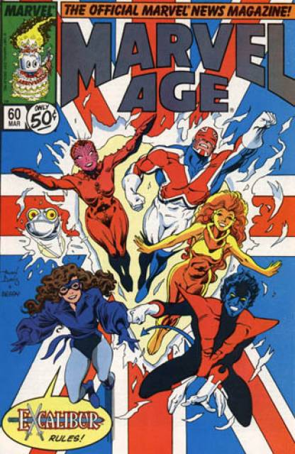 Marvel Age (1983) no. 60 - Used