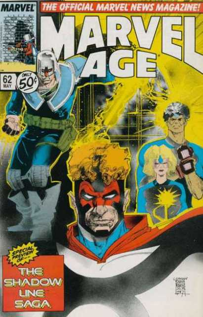 Marvel Age (1983) no. 62 - Used
