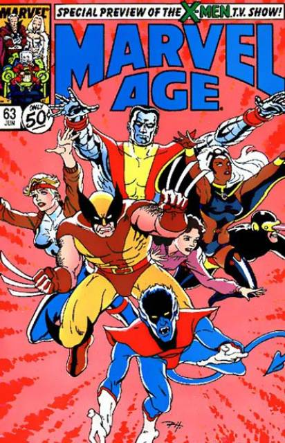 Marvel Age (1983) no. 63 - Used