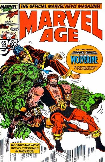 Marvel Age (1983) no. 65 - Used