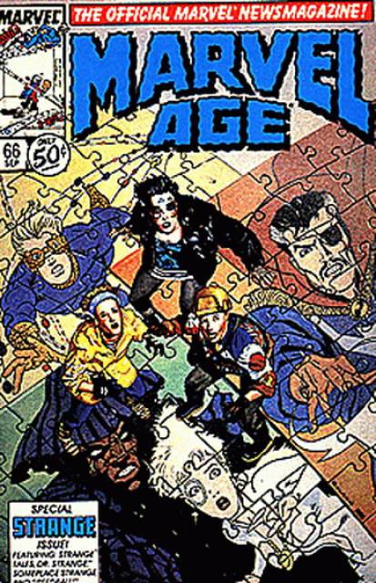 Marvel Age (1983) no. 66 - Used