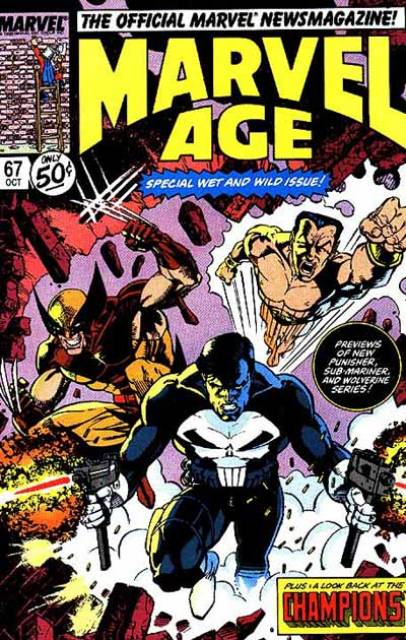 Marvel Age (1983) no. 67 - Used