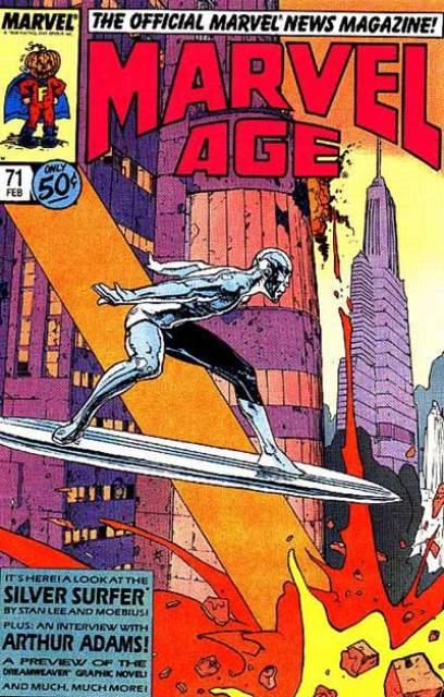 Marvel Age (1983) no. 71 - Used