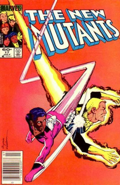 The New Mutants (1983) no. 17 - Used