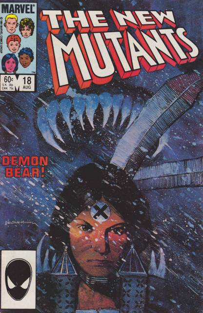 The New Mutants (1983) no. 18 - Used