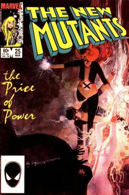 The New Mutants (1983) no. 25 - Used