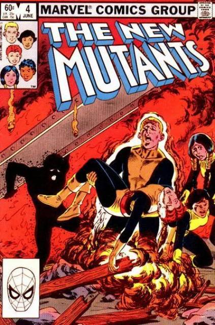The New Mutants (1983) no. 4 - Used