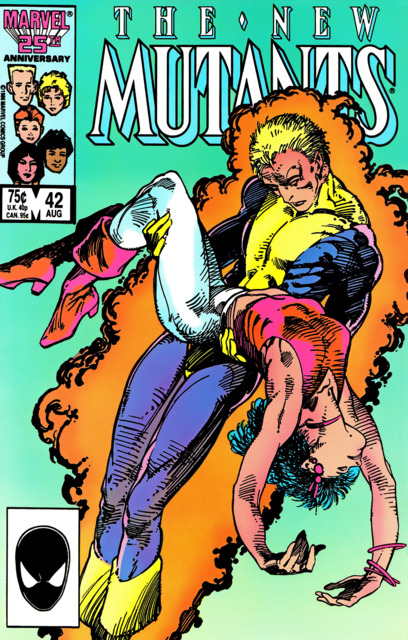 The New Mutants (1983) no. 42 - Used