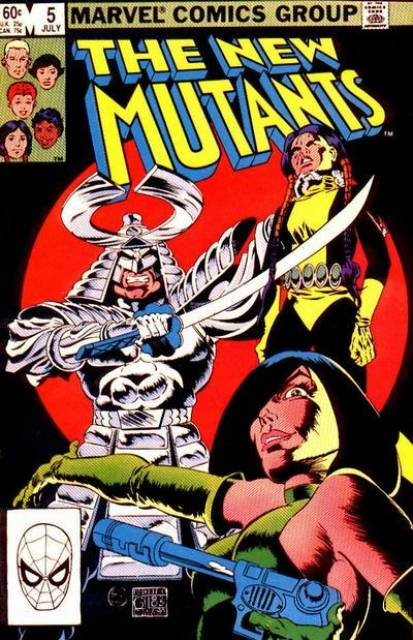 The New Mutants (1983) no. 5 - Used