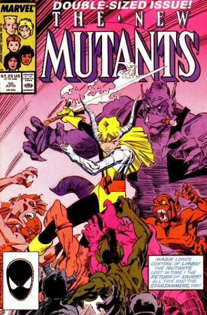 The New Mutants (1983) no. 50 - Used