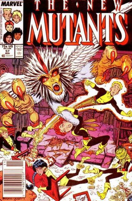 The New Mutants (1983) no. 57 - Used
