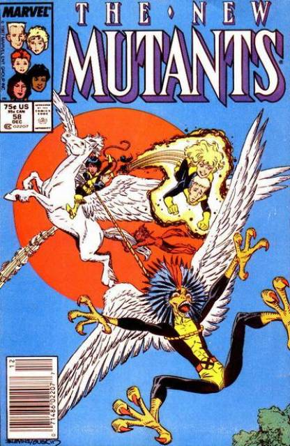 The New Mutants (1983) no. 58 - Used