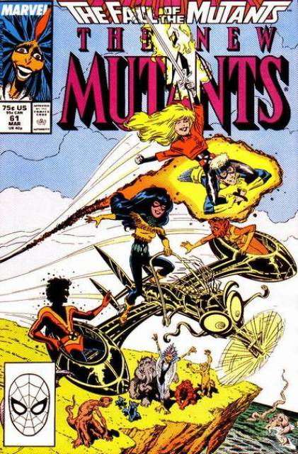 The New Mutants (1983) no. 61 - Used
