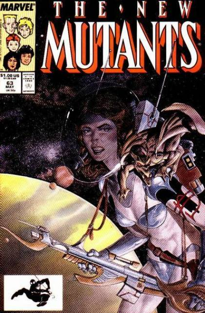 The New Mutants (1983) no. 63 - Used