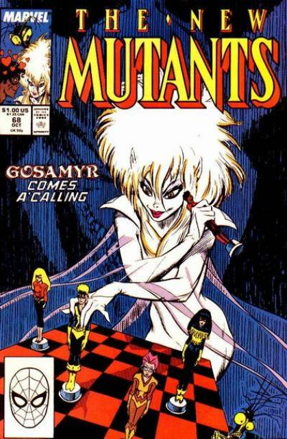 The New Mutants (1983) no. 68 - Used