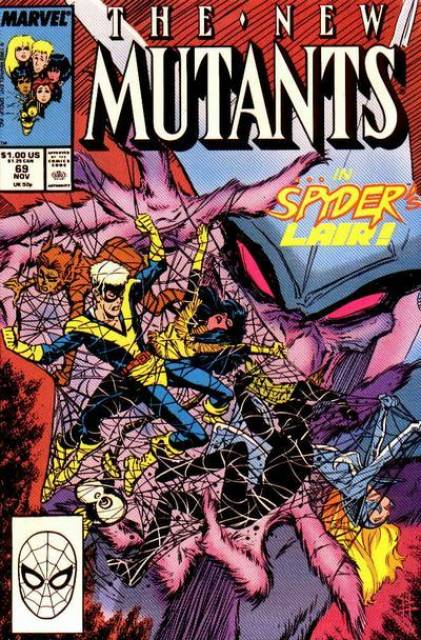 The New Mutants (1983) no. 69 - Used