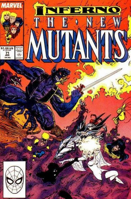 The New Mutants (1983) no. 71 - Used