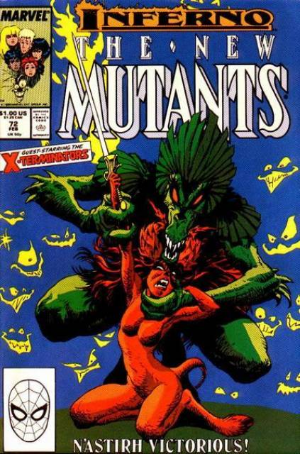 The New Mutants (1983) no. 72 - Used