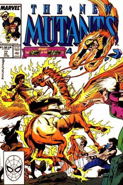 The New Mutants (1983) no. 77 - Used