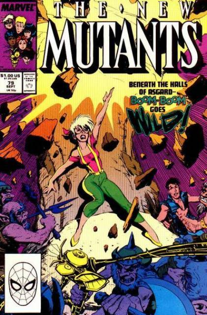 The New Mutants (1983) no. 79 - Used