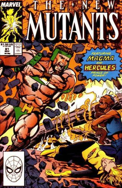 The New Mutants (1983) no. 81 - Used