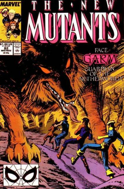 The New Mutants (1983) no. 82 - Used