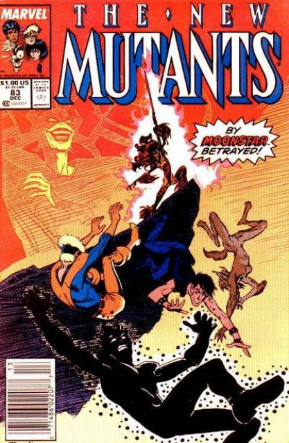 The New Mutants (1983) no. 83 - Used